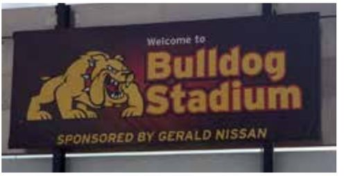 Stadium Sponsor 1'x10' - Only 1 Available