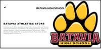 New BHS Athletic Store