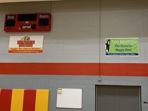 RMS Gym 5'x3' Banner