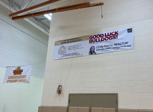 BHS Middle Gymnasium 6'x3' Banner